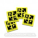 Groundspeak 3/4 x 3/4 Mini Sticker 8 Pack