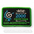 Patch 2,000 Finds Geo-Achievement