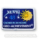Patch 24 Hours 48 Caches Geo-Achievement