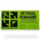 Groundspeak Cache Label - Large