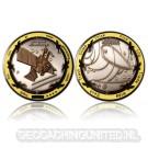 Eureka Geocoin - Special Edition - (Black / Silver / Gold)