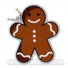 Gingerbread Man Travel Tag