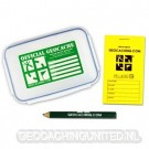 Groundspeak Official Geocache with Logbook and Pencil - Small