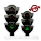 100 Years Traffic Light Geocoin - Black Nickel - XLE 75