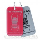 Geocaching QR Travel Bug® - Red