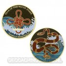 Year of the Snake Geocoin - LE 650