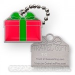 Travel Gift Tag - Rood Groen