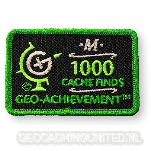 Patch 1,000 Finds Geo-Achievement