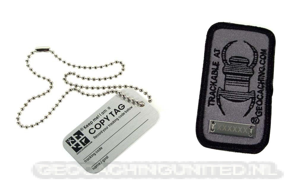 Travelbug® Patch Trackable Dark