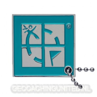 GC Logo Travel Tag - Blue