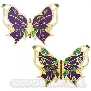 Butterfly Hinge Geocoin