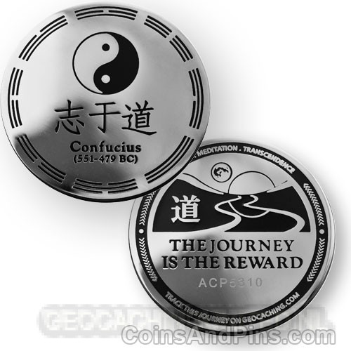 Confucius Geocoin, The Journey
