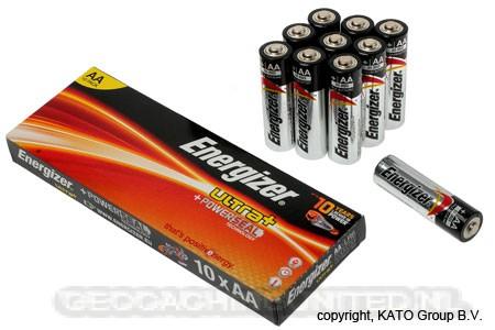 EGAA10 Energizer Ultra + Alkaline AA 10 stuks