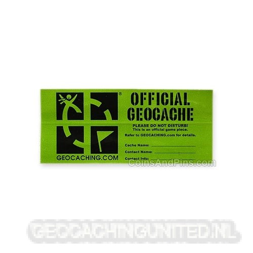 Geocache Label - Small