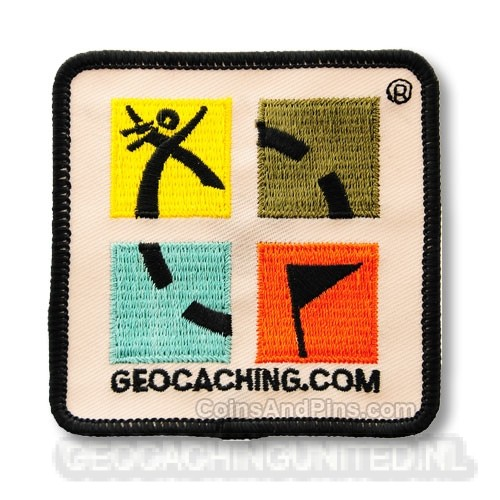 Geocaching.com Patch - full color