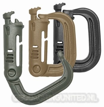 MAXpedition GRIMLOC™ D-RINGS - Carabiner - Black