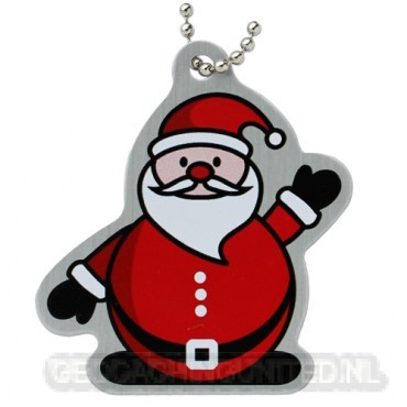 Santa Travel Tag