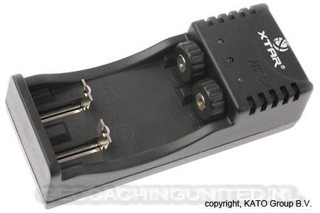 XTAR SP2 snellader voor o.a. 18650 accu's