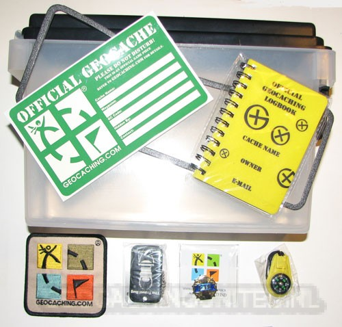 The Official Geocaching HQ Hide-An-Ammo Can Kit