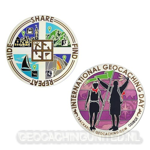 Eagle Eye Geocoin - Serenity