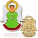 Angel Geocoin - Genesis Groen - Goud