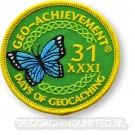 Patch 31 Days of Geocaching Geo-Achievement