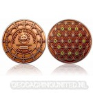 The Colors of Geocaching Geocoin - OPTIMISM - Antique Copper LE (150)