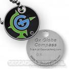 Gx Globe Compass Tag