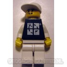 Trackable LEGO™ Figure - Black Tee / White Hat