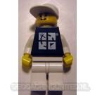 Trackable LEGO™ Figure - Black Tee / White Hat