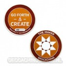 Maker Madness Geocoin