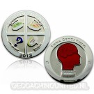 Geocaching - All In One GC 2013 Polished Silver LE 150