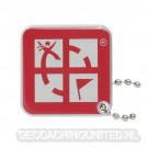 Gecko Travel - Tag - Red