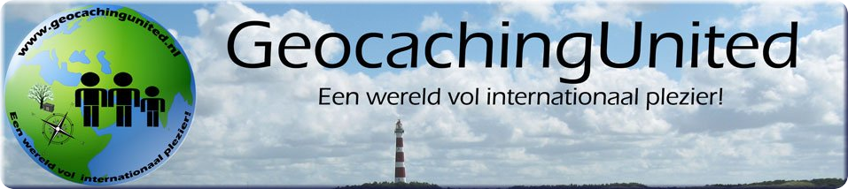 Welkom in onze GeocachingUnited Shop!