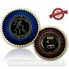 I Love Nightcaches Geocoin - Antiek Goud - XLE 75
