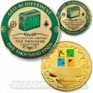 5000 Finds Geo-Achievement set