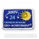 Patch 24 Hours 24 Caches Geo-Achievement