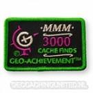 Patch 3000 Finds Geo-Achievement