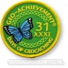 Patch 31 Days of Geocaching Geo-Achievement