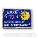 Patch 24 Hours 72 Caches Geo-Achievement
