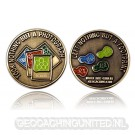 Save the Nature Geocoin - Antique Gold