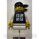 Trackable LEGO™ Figure - Black Tee / Black Hat