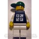 Trackable LEGO™ Figure - Black Tee / Green Hat