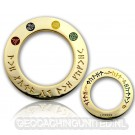 Lord of the Caches - MASTER Ring Polished Gold LE 125