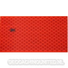 Reflector Foil 100 mm x 50 mm RED (original 3M Scotch)